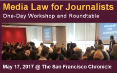 Advisers invited to May 17 media law workshop