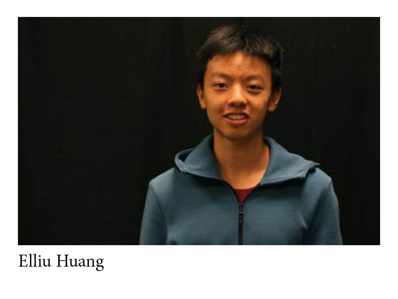 Student Spotlight: Elliu Huang, Lynbrook High School